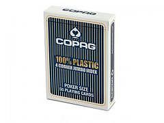 09.324b - Poker Karten Copag, Blau, PVC