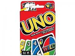 UNO - Kartenspiel + 4 Spezialkarten !