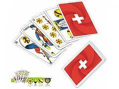 SWISS FLAG - Jasskarten