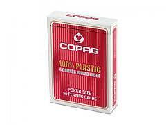 Poker Karten Copag, Rot, PVC