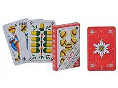 Edelweiss Jasskarten Rot / OPTI