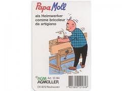 Papa Moll als Heimwerker