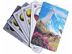 Jasskarten Silber