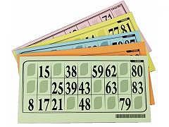 Karton Lottokarte