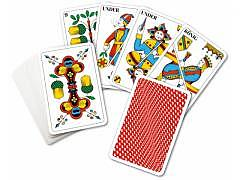 Jasskarten - Standard - Rot