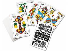 11.012 Jasskarten Jass  / Scherenschnitt