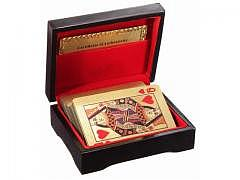 Gold Poker Karten 24 Karat