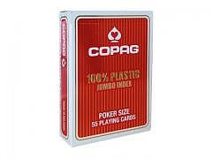 Poker Karten Copag, Rot, Jumbo Index