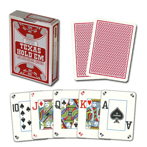 Copag Hold'em Platic PVC, Peek Index, 4 corner, Poker Size, 5411068640575