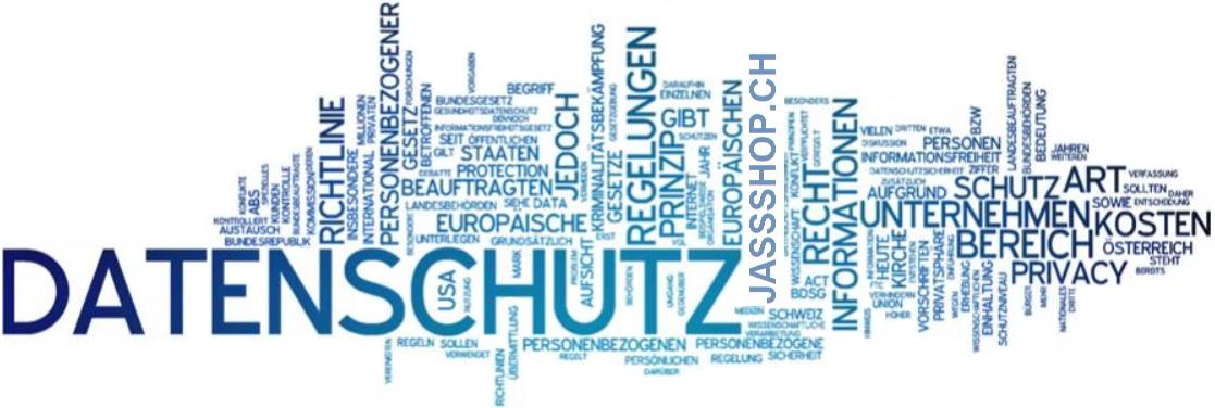 Datenschutz Erklärungen JassShop.ch