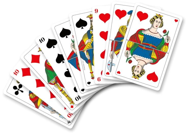 CH - Französische Piquet - Jasskarten
