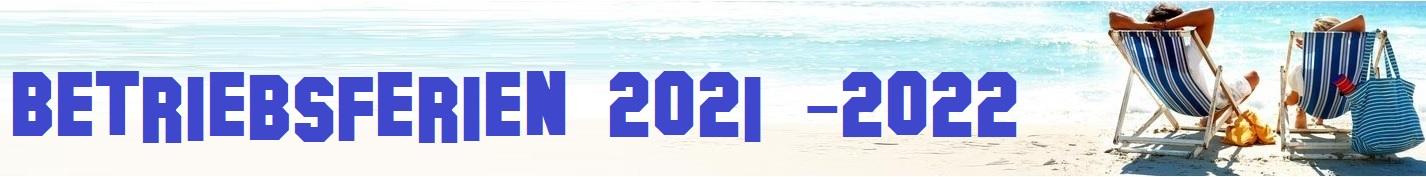 Betriebsferien JassShop 2021 - 2022