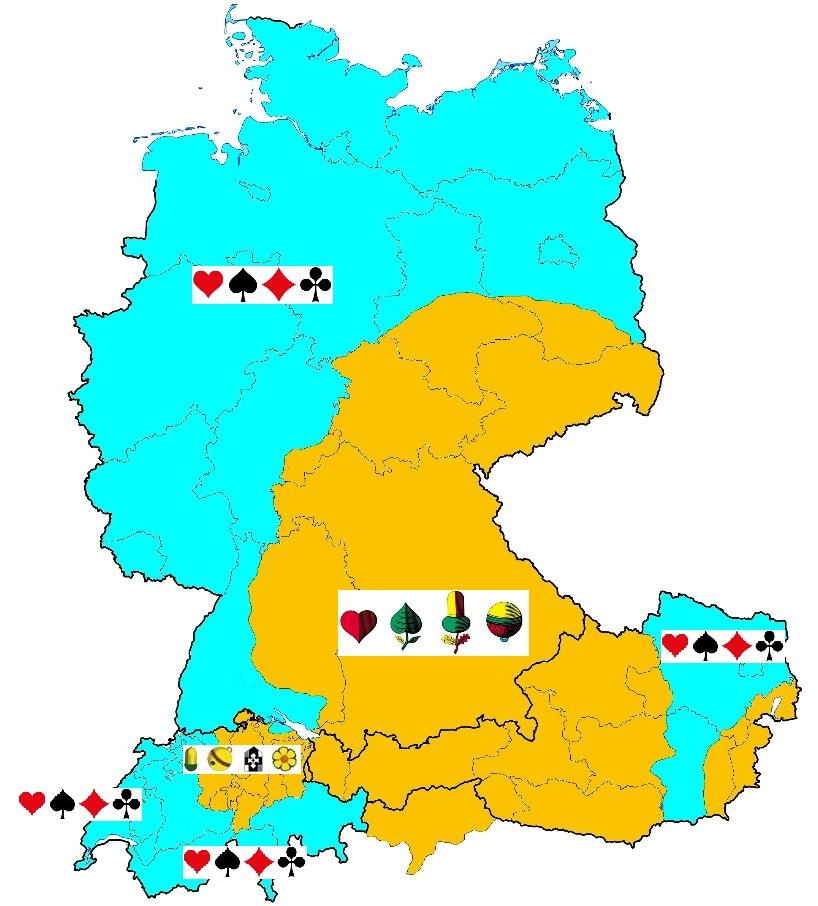 Karte Mitteleuropa-1