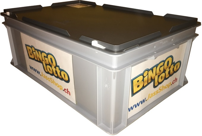 Beispiel: Verpackung bis ca. 30 Kilo / Lotto- / Bingo Spiel