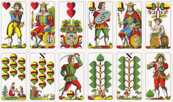 Östereichische Spielkarten