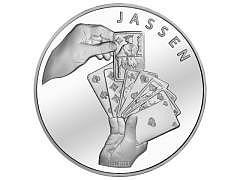 M-00.001 - 20.-- Silber Jass - Münze