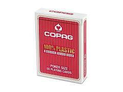 09.324a - Poker Karten Copag, Rot, PVC