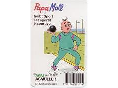 Papa Moll treibt Sport