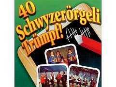 99.699 - 40 Schwyzerörgeli Trümpf - Doppel CD