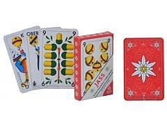11.001 Edelweiss Jasskarten Rot / OPTI