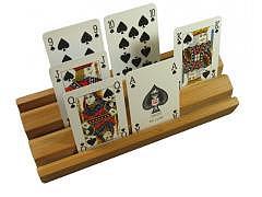 74.200 - Kartenhalter aus Holz