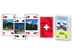 12.213A - Bridge- / Poker SWISS-Souvenir