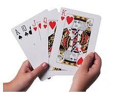 Jumbo - Poker / Jasskarten