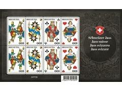 Schweizer Jass Briefmarken