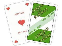 11.482 - Waadtländer (Vaud) Jass-Spielkarten, Piquet