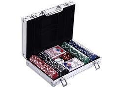 Poker Set 200 in Aluminium Koffer